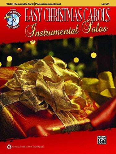 Download Easy Christmas Carols Instrumental Solos for Strings: Violin, Book & CD (Easy Instrumental Solos Series) pdf epub