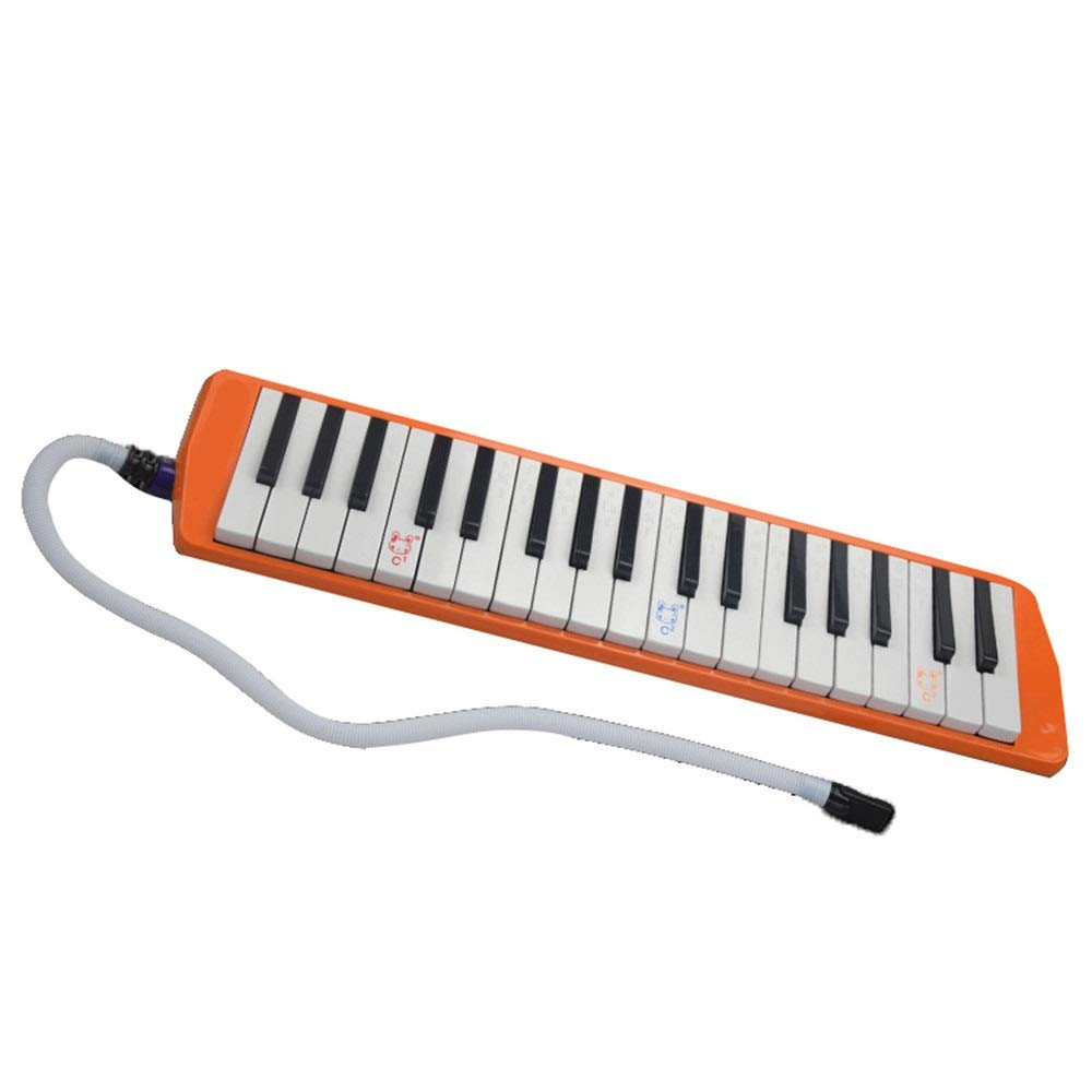 Melodica Musical Instrument 36 Keys Keyboard Cartoon Style Piano Melodica with Portable Carrying Case Kids Musical Instrument Gift Toys for Kids Music Lovers Beginners Mouthpieces Tube Sets for Music by Kindlov-mus (Image #2)