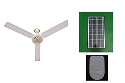 Generic solar ceiling fan and controller 48 inch without mounting generic solar ceiling fan and controller 48 inch without mounting brackets for solar panel aloadofball Choice Image