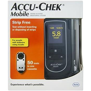 Amazon Com Accu Chek Mobile Blood Glucose System Health