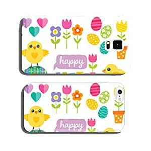 cute spring and easter design elements cell phone cover case Samsung S5