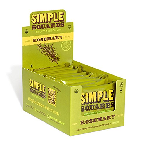 Simple Squares Organic Snack Bar, 19 Ounce