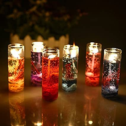 Skycandle pencil decorative candle for home decor festive decor multi pack of