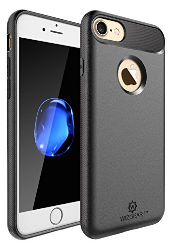 iPhone 8 Case, iPhone 7 Case, WizGear Carbon Fiber Sturdy Ca