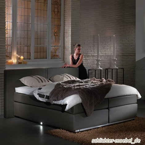 boxspringbett aoxly s 140x200 grau g nstig preis boxspringbetten online kaufen. Black Bedroom Furniture Sets. Home Design Ideas