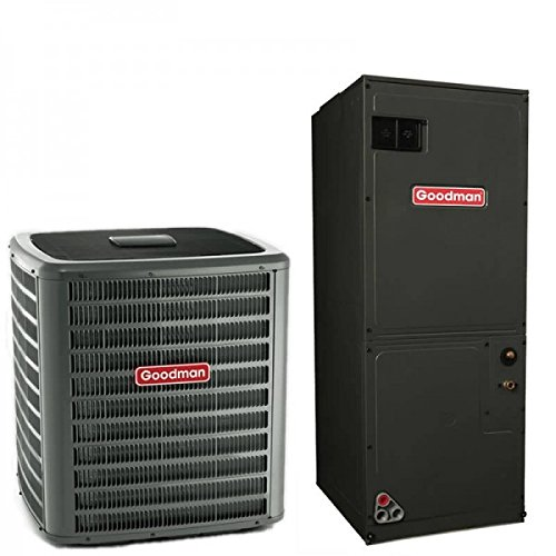 (3 Ton Goodman 18 SEER R410A Two-Stage Variable Speed Heat Pump Split System (5 Kilowatt))