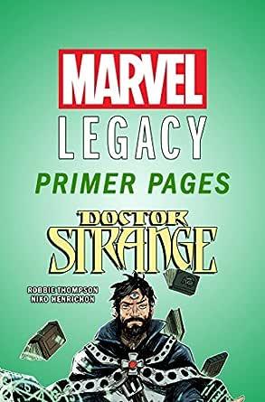 Amazon Com Doctor Strange Marvel Legacy Primer Pages Doctor