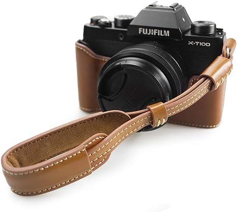 Kinokoo Schutzhülle Für Fuji X T100 Kamera Handgriff Kamera