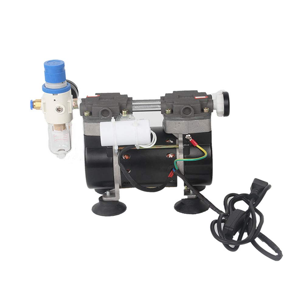 2- Stage 50L/m Oil Free Lab Vacuum Pump Oilless Medical Mute Pump HZW-165 (110V): Industrial & Scientific