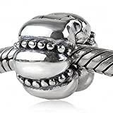 Soulbeads Authentic Sterling Silver Charm Clip Lock Stopper Beads for Charms Bracelet