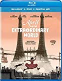 April and the Extraordinary World (Blu-ray + DVD + Digital HD)