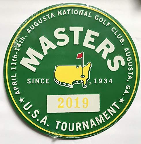 Tiger Woods Sports Memorabilia - 2019 Masters golf bar Sign garage or pub sign Tiger Woods augusta national pga new