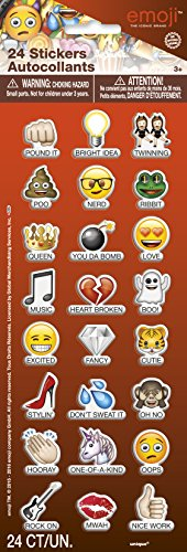 Emoji Sayings Puffy Sticker
