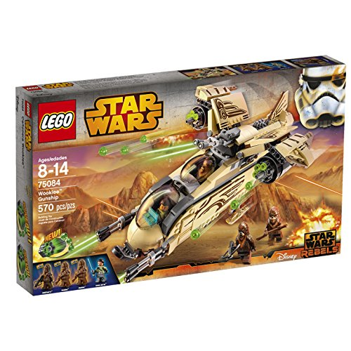 LEGO Star Wars Wookiee Gunship (Discontinued by - Lego Star Wars Clone Gunship