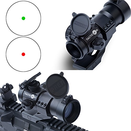 Pistol Dot Sights Red (Tacticon Armament Predator V1 Red Dot Sight | Green Dot Sight | VETERAN OWNED | Rifle Optic Reflex Sight)