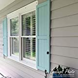 "Ekena Millwork CWB12X064CGC Exterior Three Board (2 Batten) Composite Board-n-Batten Shutters (Per Pair) 12""W x 64""H Chrome Green 1 Pair"