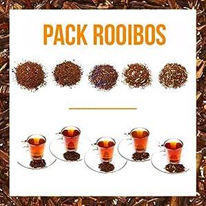 Aromas de Té - Pack Té Rooibos - Contiene Té Rooibos Alhambra + ...