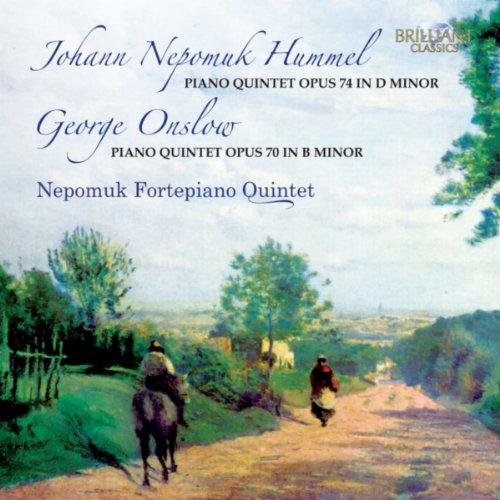 Amazon.com: Hummel & Onslow: Piano Quintets: Nepomuk