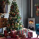 ROSELEAF 7.5 ft Artificial Christmas Tree Hinged