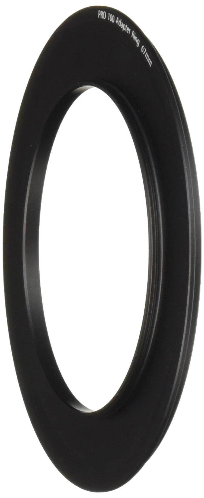 Tiffen Step Ring Camera Lens Square Filter, Black (PRO10067AR)