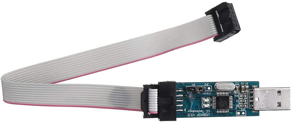 Weilaijaiju Electronic Accessories 5pcs USBASP USBISP AVR Programmer USB ISP USB ASP ATMEGA8 ATMEGA128 Support Win7 64K