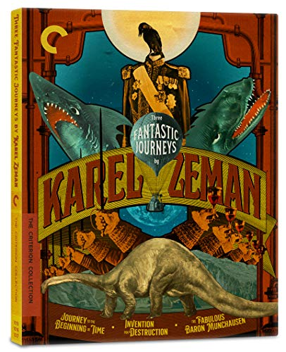 Three Fantastic Journeys by Karel Zeman (Journey to the Beginning of Time/Invention for Destruction/The Fabulous Baron…