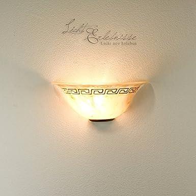 Applique Murale Superbe Grec Lamp Style Appliques vN80mOnw