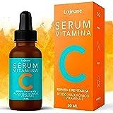 Serum Vitamina C + Ácido Hialurônico + Vitamina E + Ureia - Sérum Facial - 95% Ingredientes Naturais - Clareia, Revitaliza, R