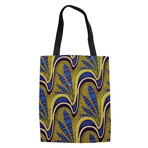African Traditional Printing Shopping Bags Women Canvas Tote Bag Large Shoulder Bags for Recycle Eco Bags,T2]()