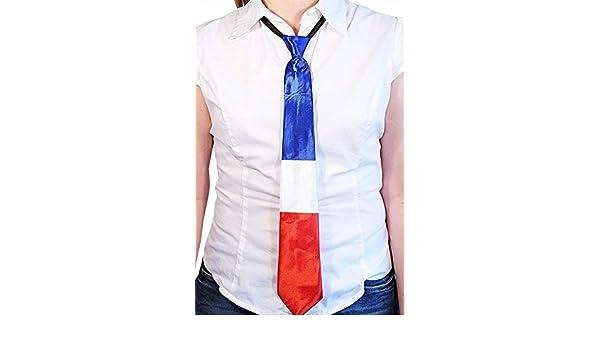Corbata Francia – Disfraz francés – Fiesta Nacional – 45 cm ...