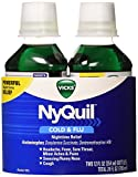 Vicks Nyquil Twin Pack, 12 Ounce (Pack of 6)