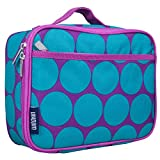 Wildkin Lunch Box, Insulated, Moisture Resistant, and Easy to Clean with Helpful Extras for Quick and Simple Organization, Perfect for Kids or On-The-Go Parents - Pink Leopard