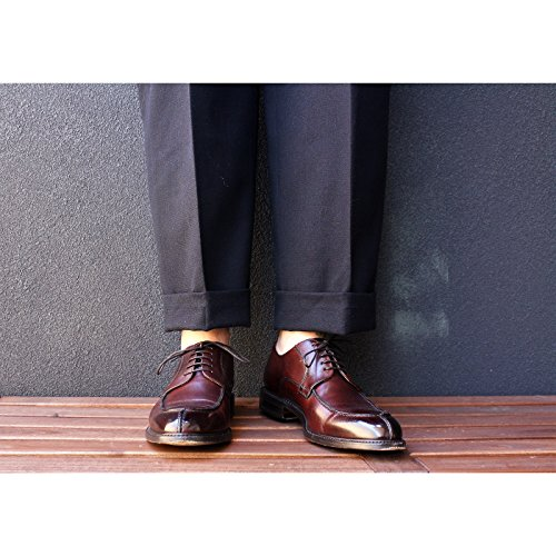Herring Herring Pershore - Zapatos de cordones para hombre Marrón granate