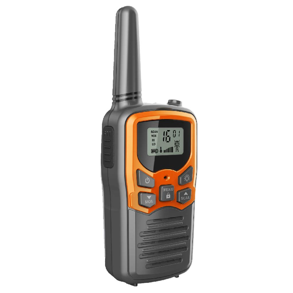 Banbu Kids walkie talkies, 22 Channel 2 Way Radio 3 Mile Long Range Kids Toys Best Gifts for Boy&Girls,Outdoor Adventure Game, 2Packs,Orange by Banbu (Image #2)