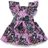 Summer Newborn Toddler Girls Star Wars Ruffle Dress Flower Pageant Party Princess Tutu Dress Sundress