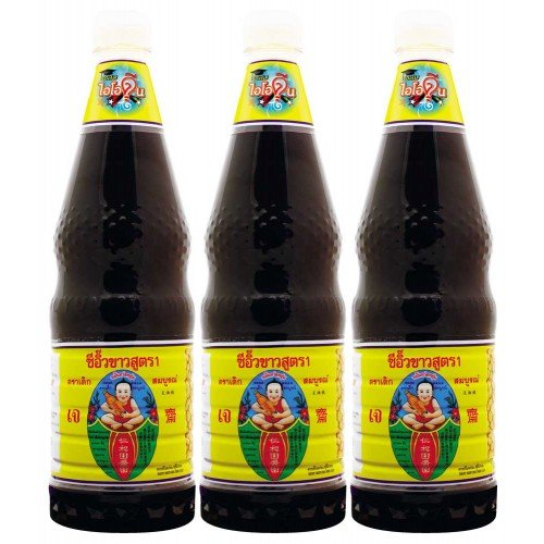 Thin Soy Sauce A 1000 cc.,pack 3 by Healthy Boy