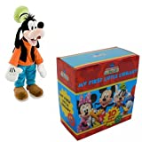 Disney Mickey Mouse Clubhouse Pocket Library box set pack with Goofy Soft 8