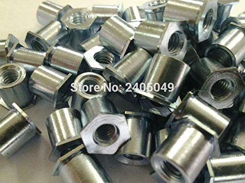 Nuts TSOA-6M25-300 Thin Head Threaded standoffs, Aluminum 6061,Nature,PEM Standard,in Stock,