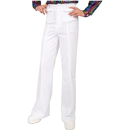 70s Costumes: Disco Costumes, Hippie Outfits Charades Mens Disco Pant $26.57 AT vintagedancer.com