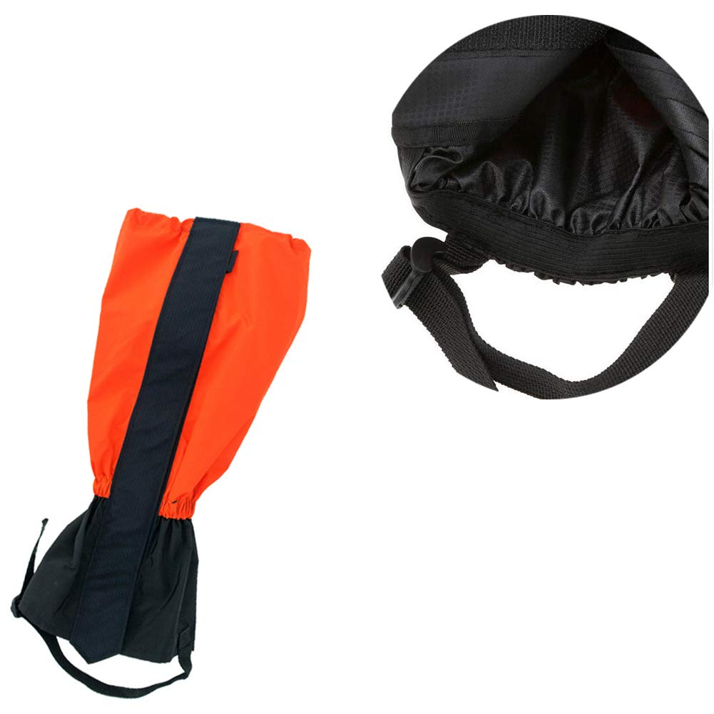 xuew Neige Leg gu/êtres imperm/éable Boot Leg Gators Randonn/ée Gu/êtres Cove Leg Garde Protection de la Marche Chasse Escalade Cyclisme Noir 1R/égler