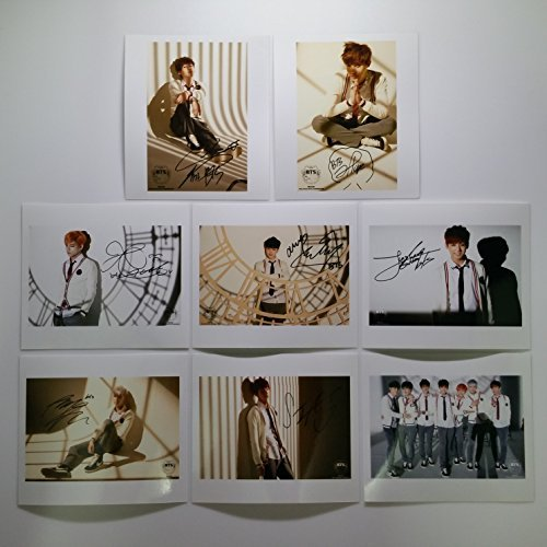 Bts Bangtan boys fancafe year 2014 photo set #11 by - Packages Autographed