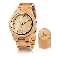 ********************************* OUR STORY ********************************* BOBO BIRD is a watch brand of unique style,natural Bamboo watches & Wood watches. We hold our watches to the highest standards of craftsmanship, authenticity, a...