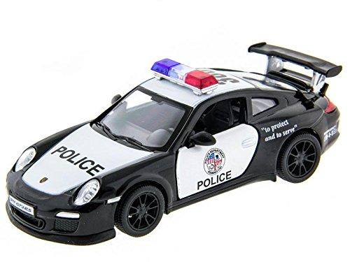 [해외]5 포르쉐 911 GT3 RS(경찰차) 1:36 스케일 / 5 Porsche 911 GT3 RS(Police Car) 1:36 Scale