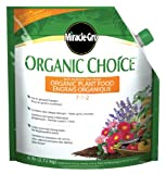 Miracle-Gro Organic Choice Plant Food, 7-1-2, 2.72kg - Best Reviews Guide