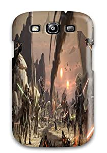 DanRobertse Case Cover For Galaxy S3 - Retailer Packaging Star Wars The Old Republic Lightsaber S Jedi Swords Protective Case