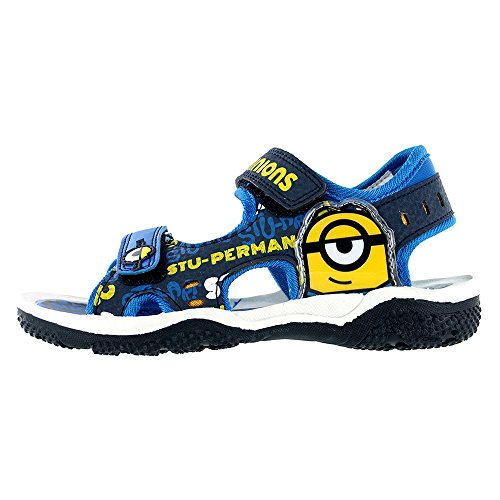 Minions Blue Sports Sandals Various Sizes