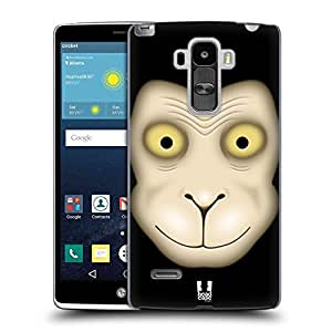 Head Case Designs Green Jolly Monsters Hard Back Case Cover For Nokia Asha 501