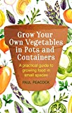 img - for Grow Your Own Vegetables in Pots and Containers: A practical guide to growing food in small spaces book / textbook / text book