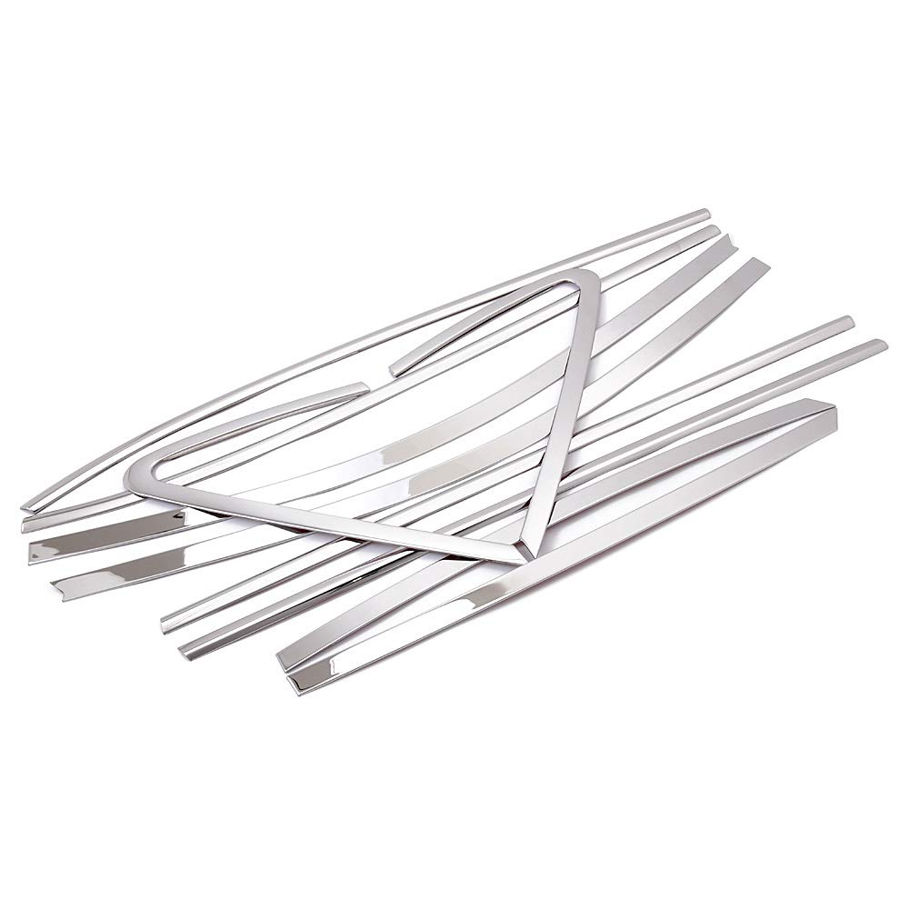 Stainless Steel Full Set Window Sill Frame Cover Molding Trim For Hyundai Tucson IX35 2010-2014 Second Generation 10PCS//SET