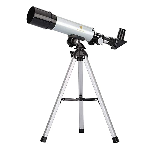 GEERTOP 90X Portable Astronomical Refractor Tabletop High Quality Telescope 360X50mm for Kids Sky Star Gazing Birds Watching